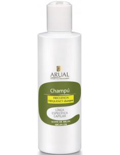 Champú frecuencia aceite de argán Arual Cosmetica Profesional