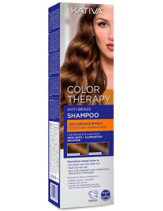 Champú Color Therapy anti brass anti-naranja Kativa