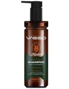 Champú barba y bigote Hipster Vasso
