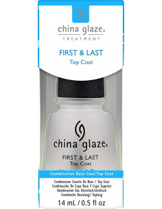 Base y top coat first & last China Glaze