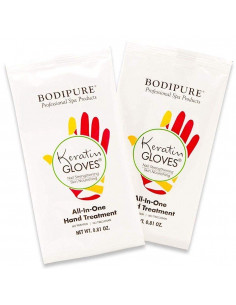 Guantes tratamiento manicura keratin Bodipure