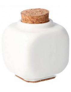 Godet cerámica tapa corcho Pollie