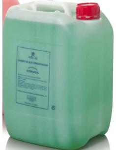 Arual champú de clorofila garrafa