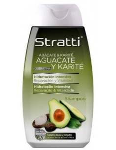 Champú aguacate y karité Stratti