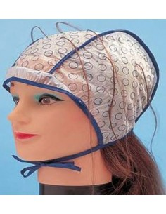 Gorro de mechas doble capa