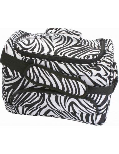 Neceser maletín Print Cebra grande AG