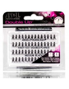 Pestañas individuales double knotted Ardell