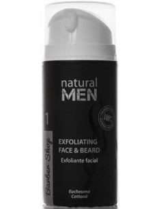 Shave exfoliante facial y barba Natural Men