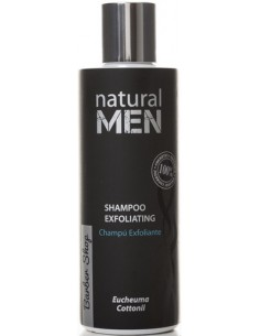 Champú exfoliante Natural Men