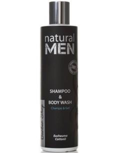 Champú cuerpo y cabello Natural Men