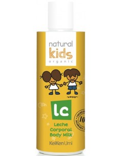 Leche corporal orgánica Natural Kids