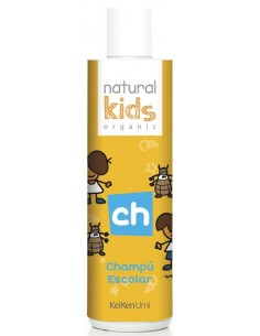 Champú escolar orgánico repelente Natural Kids