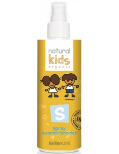 Acondicionador bifásico spray orgánico Natural Kids
