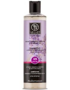 Champú de lavanda cabello teñido Velvet