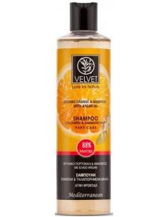 Champú de naranja cabello teñido Velvet
