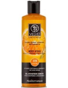 Exfoliante scrub de naranja Velvet