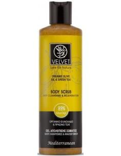 Exfoliante scrub de oliva Velvet