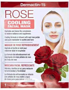 Mascarilla facial tonificante y refrescante de rosa Dermactin