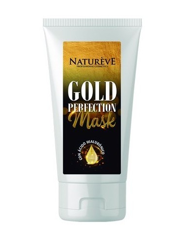 Mascarilla Gold Perfection oro y ácido hialurónico Natureve