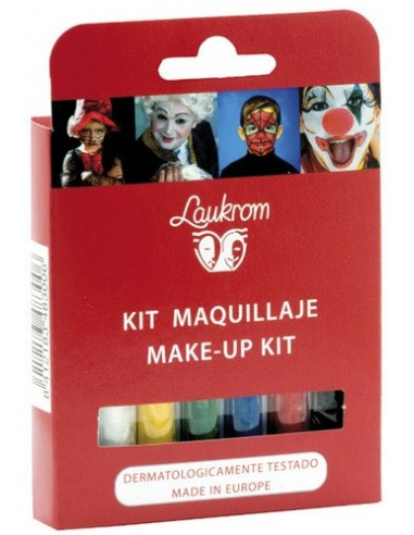 Estuche 6 barras de pintura facial Laukrom