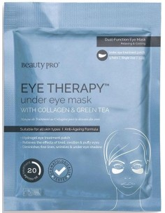 Mascarilla ojos eye therapy colágeno y té verde Beauty Pro