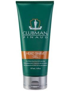 Gel afeitado para cabeza Clubman