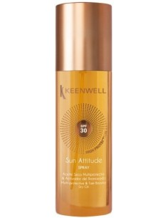 Protector solar corporal spray aceite seco SPF 30 Keenwell
