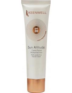 Protector solar facial crema multiprotectora SPF 30 Keenwell