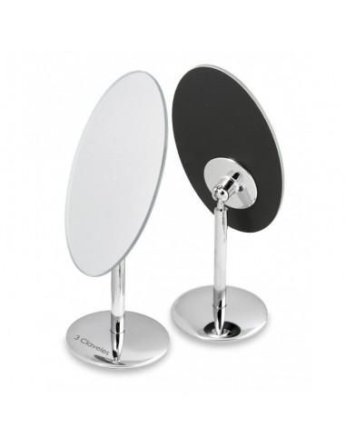 Espejo oval de base giratoria