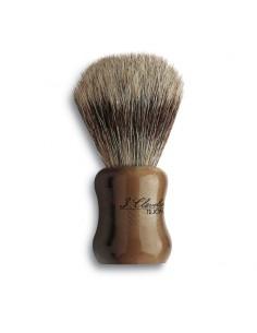 Brocha de afeitar tejón y hueso 3 Claveles