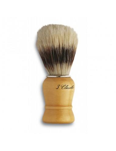 Brocha de afeitar cerda 3 Claveles