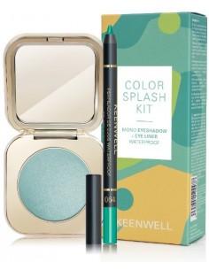 Kit ojos Color Splash (sombra 53 + delineador 64) Keenwell