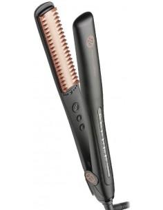 Plancha Comb Hair cóncava turmalina y keratina Retro Professional