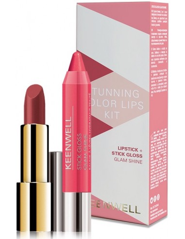 Pack Stunning Lips (Lip Beauty 40 + stick gloss) Keenwell