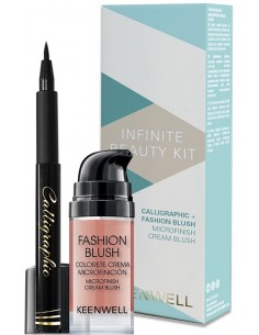 Pack Infinite Beauty (eye liner Caligraphic + blush) Keenwell
