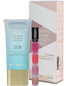 Pack Create Your Beauty Kit (crema color SPF20 + minigloss) Keenwell