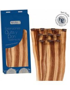 Extensiones de quita y pon Clip In 60g Hair Plus by Natura