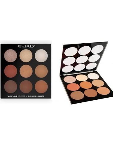 Paleta contour Shimmer&Shade Elixir