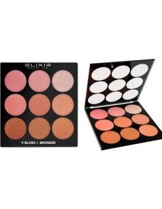 Paleta Blush & Bronzer colorete y bronceador Elixir