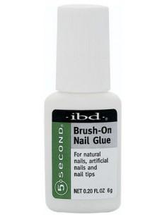 Adhesivo para uñas 5 seconds brush on IBD
