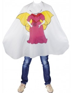 Capa corte/peinador infantil Asuer Group princesa