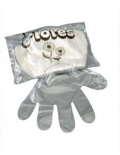 Guantes desechables plásticos bolsa 100 unidades Asuer Group
