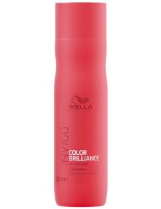 Champú cabellos finos protector del color Color Brilliance Invigo Wella Professionals 250 ml