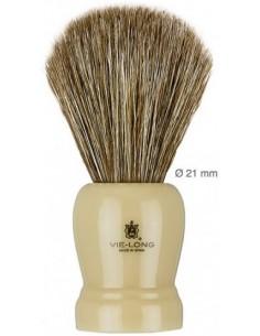 Brocha afeitar de pelo de caballo con mango plástico 12601 Vie-Long