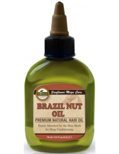 Aceite natural nuez de brasil para cabello Sunflower Difeel cosmetics