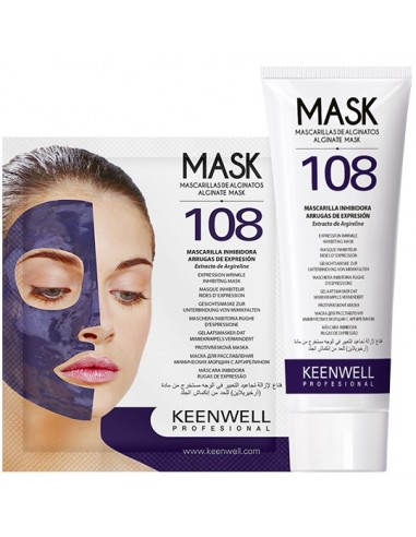 Mascarilla 108 alginatos Time Retard Keenwell