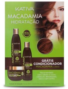 Macadamia pack duo + acondicionador de regalo Kativa