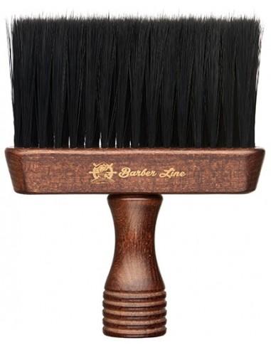 Cepillo de cuello madera Barber Line Eurostil