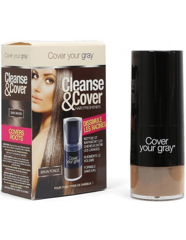 Cleanse & cover Cover your gray