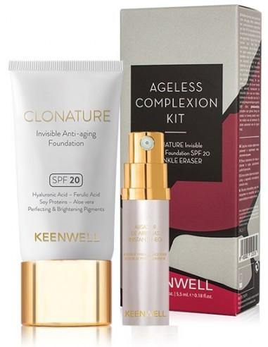 Pack Ageless Complexion (base Clonature + eliminador de arrugas) Intuition Keenwell